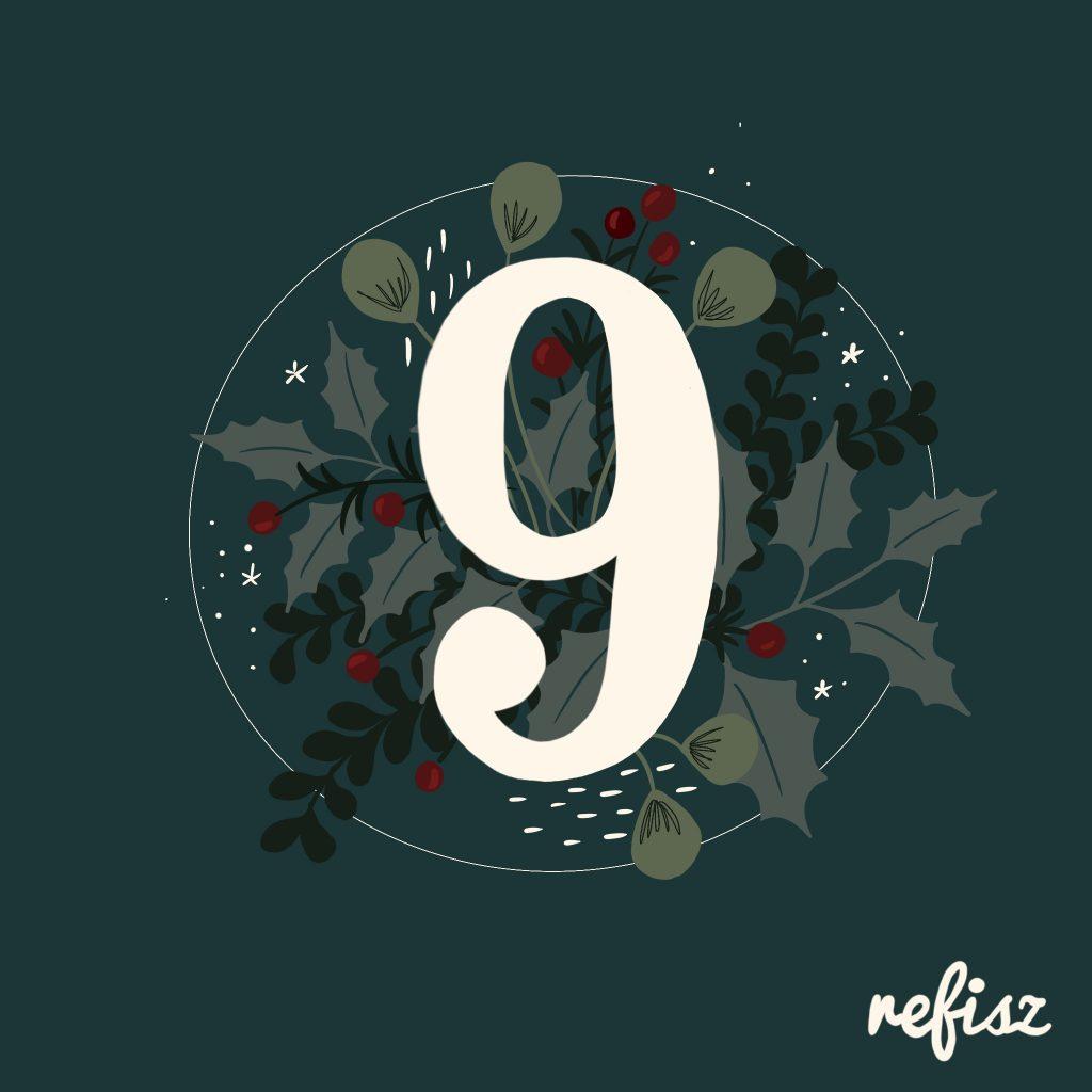 REFISZ Adventi Kalendárium 2020. december 9.