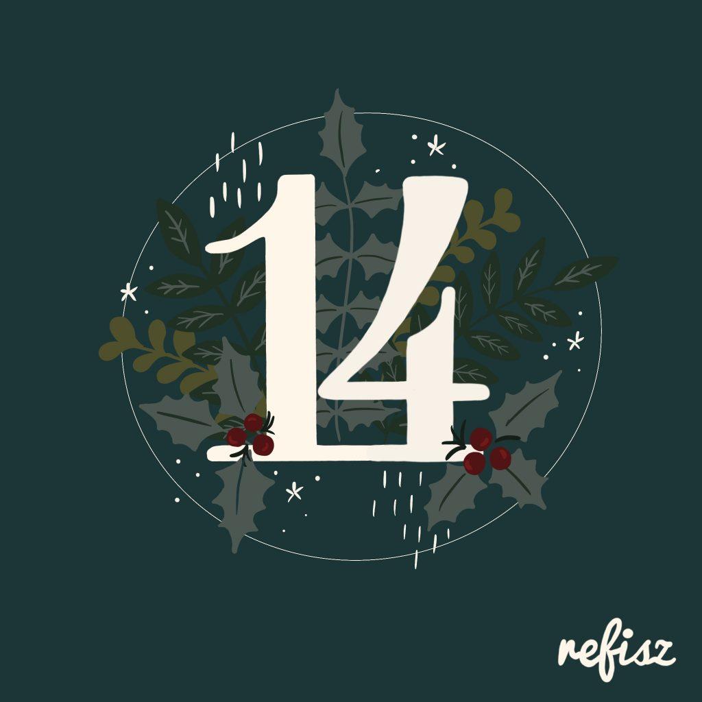 REFISZ Adventi Kalendárium 2020. december 14.