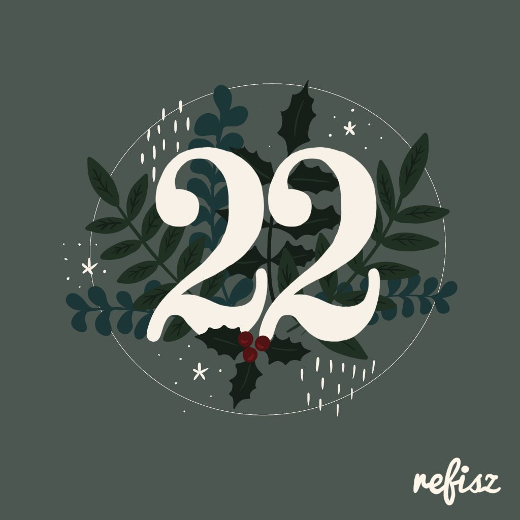 REFISZ Adventi Kalendárium 2020. december 22.
