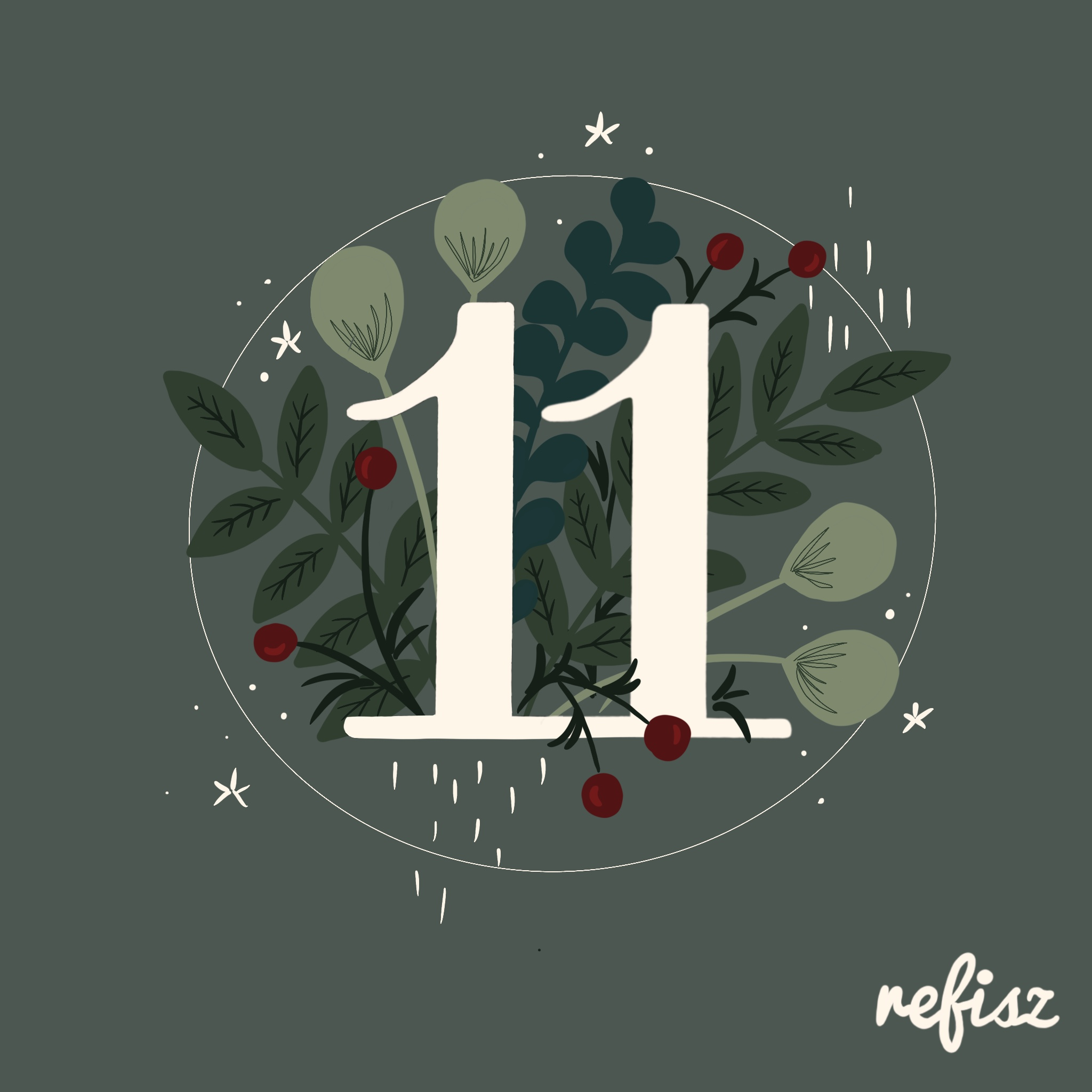 REFISZ Adventi Kalendárium 2020. december 11.