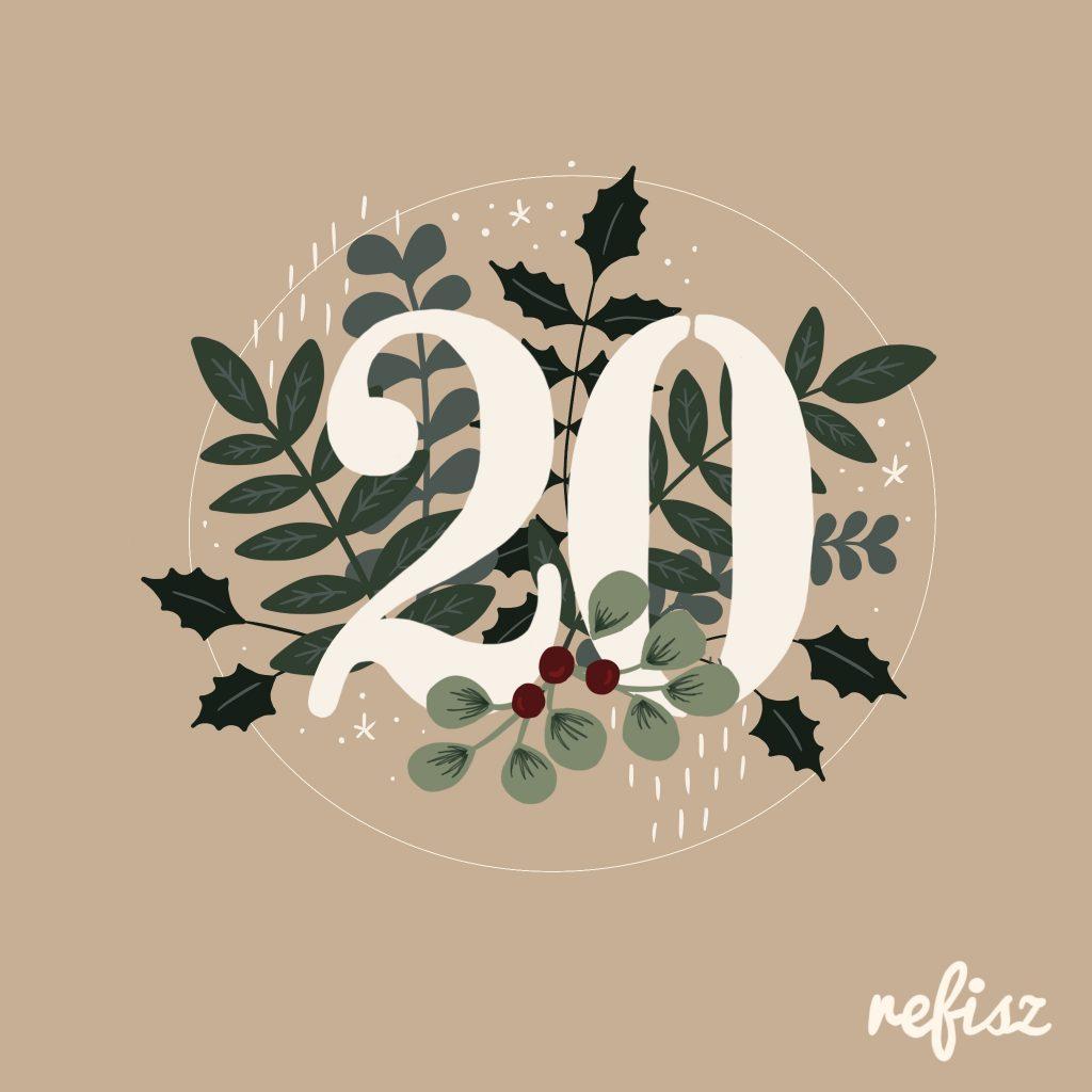 REFISZ Adventi Kalendárium 2020. december 20.