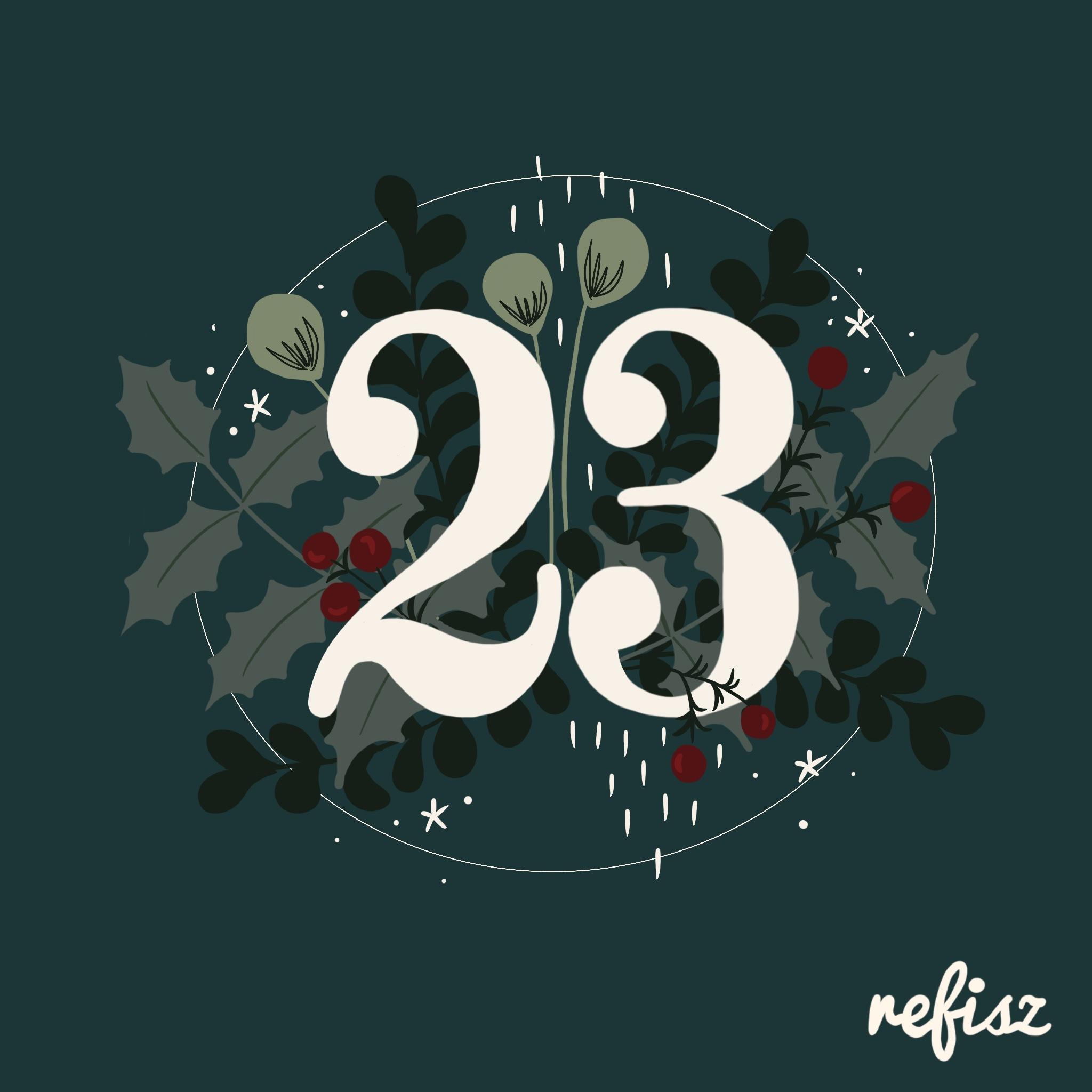 REFISZ Adventi Kalendárium 2020. december 23.