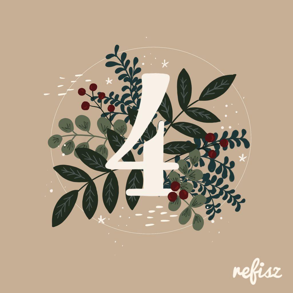 REFISZ Adventi Kalendárium 2020. december 4.